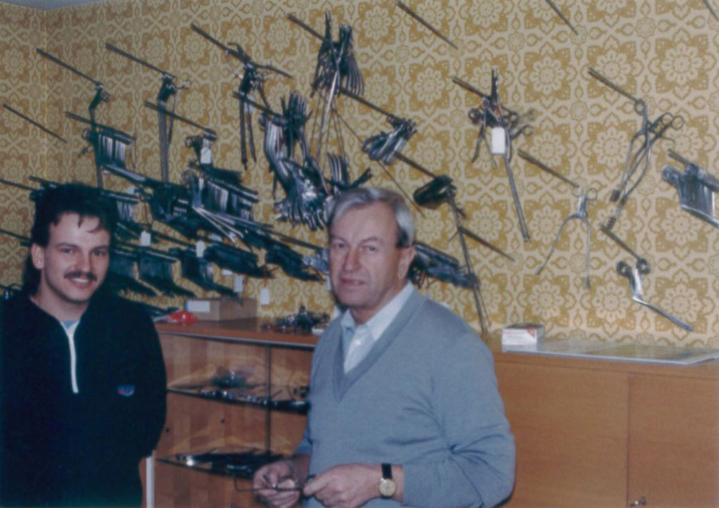 Christoph and Erwin Zepf (beginning of the 1980s)